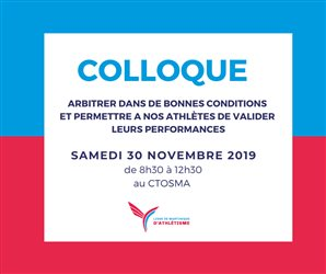 Colloque : 30 Novembre 2019